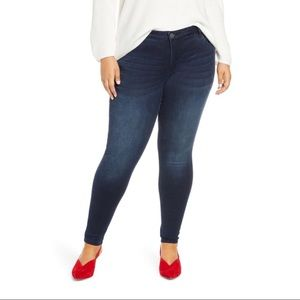 NWT KUT from the Kloth High-Rise Mia Skinny jeans